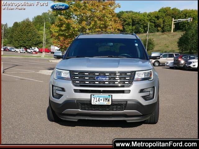 Used 2016 Ford Explorer Limited with VIN 1FM5K8F87GGB66279 for sale in Eden Prairie, Minnesota