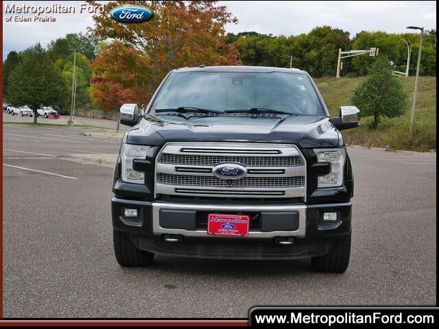 Certified 2016 Ford F-150 Platinum with VIN 1FTEW1EG2GFD23439 for sale in Eden Prairie, Minnesota