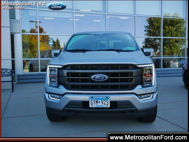 Used 2021 Ford F-150 Lariat with VIN 1FTFX1E81MKE17681 for sale in Eden Prairie, Minnesota