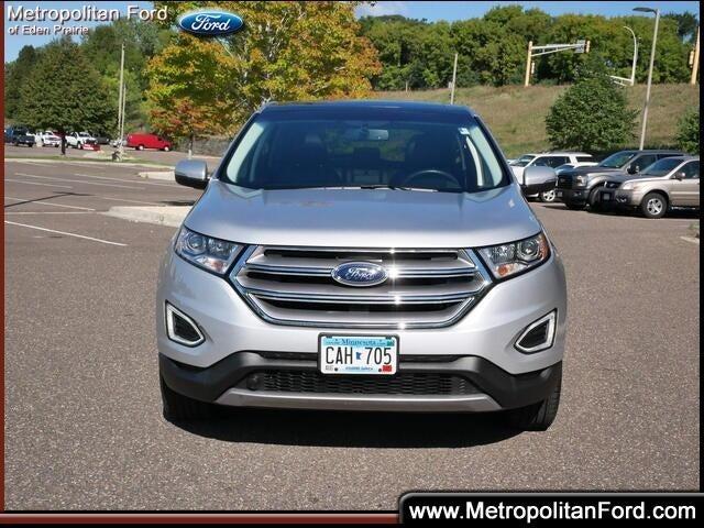 Certified 2018 Ford Edge SEL with VIN 2FMPK4J97JBC60579 for sale in Eden Prairie, Minnesota