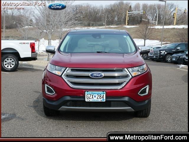 Used 2018 Ford Edge Titanium with VIN 2FMPK4K83JBC55885 for sale in Eden Prairie, Minnesota