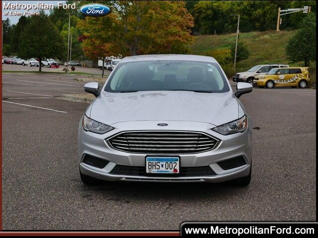 Used 2018 Ford Fusion Hybrid SE with VIN 3FA6P0LU5JR232377 for sale in Eden Prairie, Minnesota