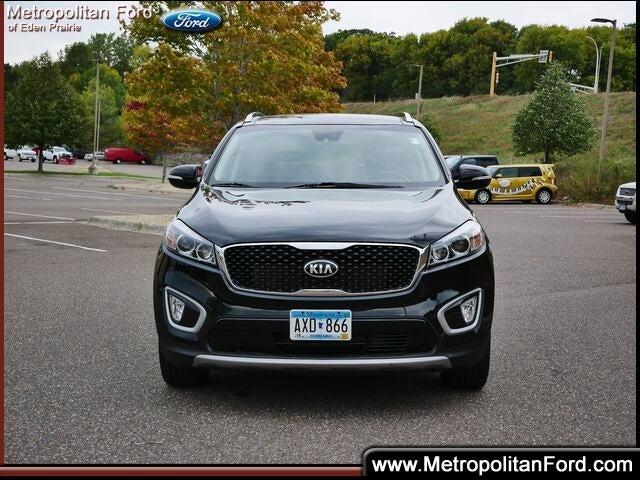 Certified 2018 Kia Sorento EX with VIN 5XYPHDA59JG429951 for sale in Eden Prairie, Minnesota