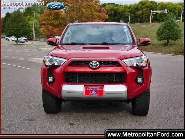 Used 2019 Toyota 4Runner Off-Road Premium with VIN JTEBU5JR1K5623412 for sale in Eden Prairie, Minnesota